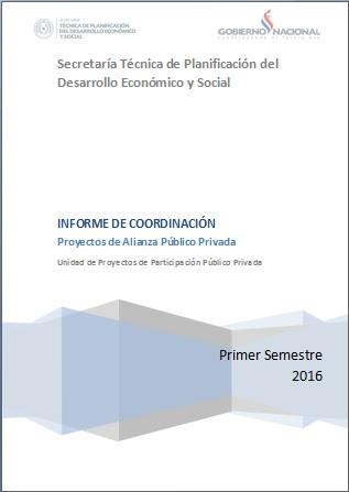 Informe de coordinacion primer semestre 2016