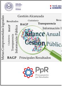 Informe de Balance Anual de Gestión Pública