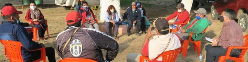 Realizaron consultas sobre el POUT a comunidades indígenas de Carmelo Peralta