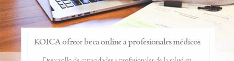KOICA ofrece curso online a profesionales de la salud