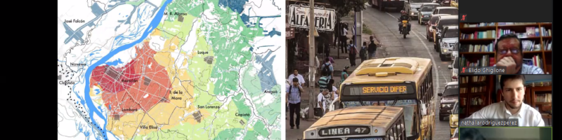Mostraron avances del diagnóstico territorial para el POUT del área metropolitana
