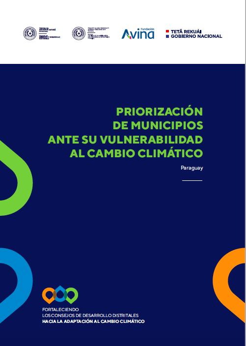 Priorización de municipios ante su vulnerabilidad al cambio climático