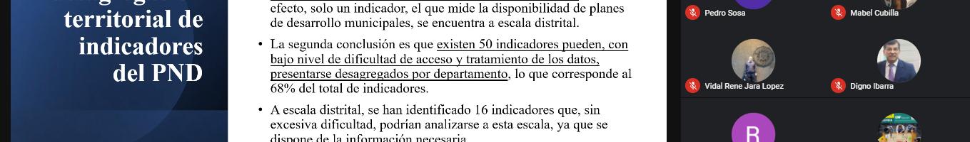 Funcionarios de la STP se capacitan en información territorial