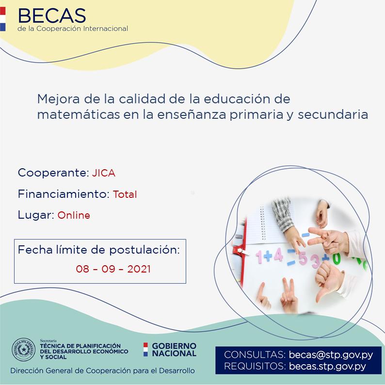 Curso disponible sobre mejora de la calidad educativa de matemáticas