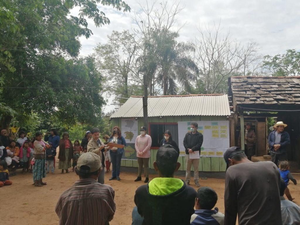 Comunidades indígenas fueron consultadas sobre el ordenamiento territorial en la comunidad