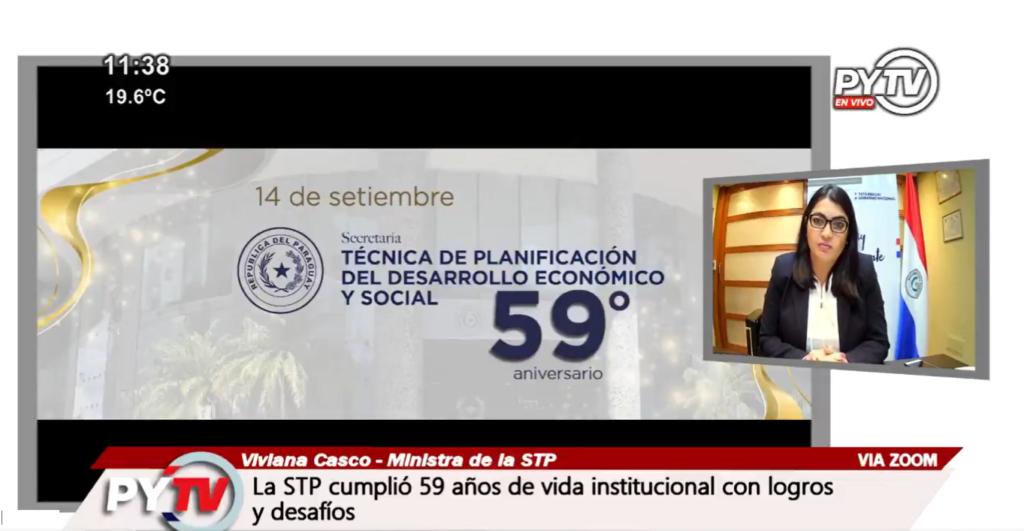 La STP celebra 59 años de vida institucional trabajando en pos del desarrollo nacional