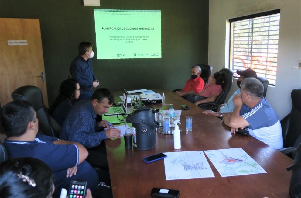 Municipio de Yhú trabaja en la planificación territorial