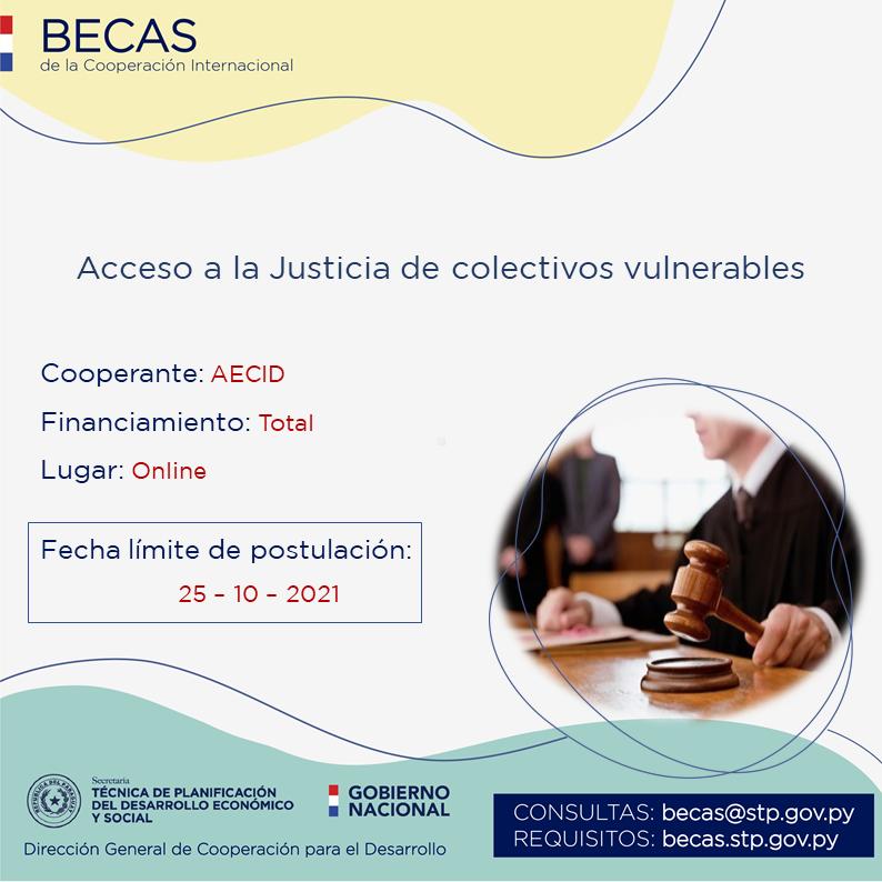 AECID ofrece beca con financiamiento total para profesionales en ciencias sociales