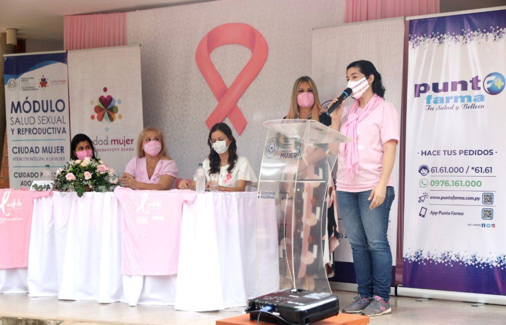 STP acompañó lanzamiento de la campaña contra el cáncer de mamas