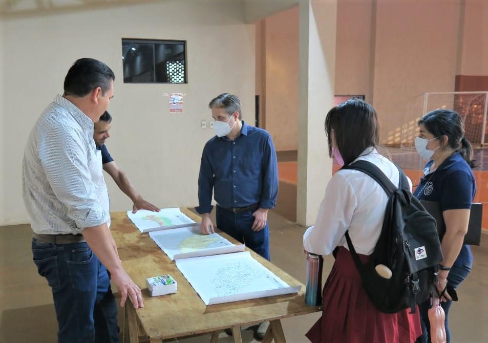 STP apoya a municipio de Tomas Romero Pereira en su planificación territorial